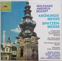 Mozart - Krönungsmesse, GIEBEL, HÖFFGEN, LORENGAR, Gold White Electrola STEREO