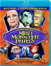 MAD MONSTER PARTY New Sealed Blu-ray + DVD