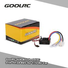 GoolRC 60A Brushed ESC Speed Controller with 5V/2A BEC for 1/10 RC Car V1A6