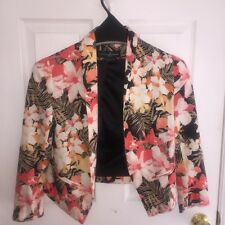Guess by Marciano Floral Blazer XS; New w/o tags