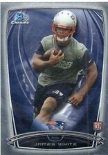 2014 Bowman Chrome James White RC Patriots