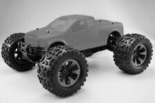 Hobao Hyper Monster Truck 1/8 Brushless Roller klare Karo 80% ARR - HB-MTE