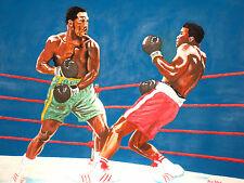 Muhammad Ali v Joe Frazier (1st) by David Putland - A3 Limited edition Prints