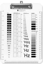 A4 Clásico Diseño Gráfico Gráficos Base De Acrílico Resistente Artes Portapapeles