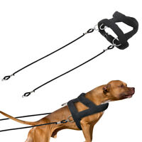 Heavy Duty Dog Weight Pulling Harness and Lead Leash Large Training Vest Pitbull