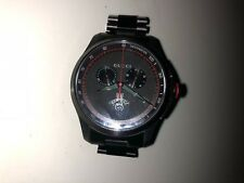 NEW Men's Gucci G-Timeless Bracelet Watch YA126269 Black Stainless Steel