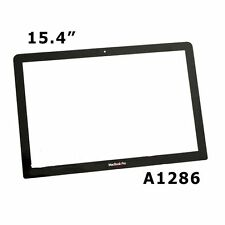 """15"""" 15.4"""" MacBook Pro Unibody LCD Screen Glass Cover A1286 For 2009 2010 2011"""