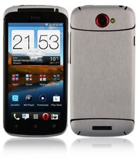 Skinomi Brushed Aluminum Full Body Cover+Screen Protector for HTC One S