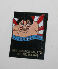 Original Street Fighter 2 Metal Pins Badge E. Honda Capcom Character Unused