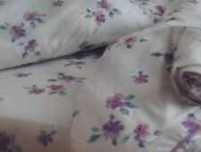 VTG. NWT floral Cannon Royal Family Twin Fitted Bed Sheet No Iron Percale