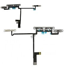 For iPhone X Volume Flex Cable Mute Switch With Metal Holding Brackets