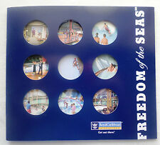 mv Freedom of The Seas . Royal Caribbean . 2005 Brochure Cruise Ship Boat Voyage