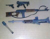 Gi Joe elite 12 in 1/6 action figure weapons n accessories lot