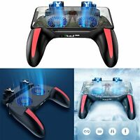 Für Android IOS PUBG Mobile Phone Controller Halter 5000mAh Gamepad Cooling Fan