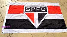 Sao Paulo FC Flag Banner Bandeira Bandera 3x5 ft Brasil Soccer Futebol