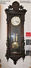 130cm H tolle originale GUSTAV BECKER Jugendstil Wiener Vienna Regulator--96161