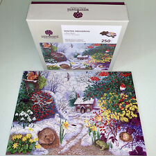 WENTWORTH Wooden Puzzle Winter Hedgerow Snow Anne Searle Liberty COMPLETE