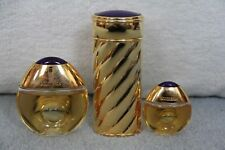 Boucheron Parfum Womans Refillable Rechargeable Spray + 2 Full Bottles