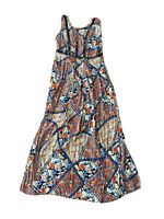 Chasing Kate By St Frock Women's botanical Print Maxi Dress Size 10