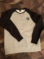 jordan Crew Neck Sweater Blk/Gry Men's Sz L (in Great Condition)