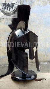 Black Roman 300 Spartan Helmet King Leonidas Movie Replica Helmet Medieval Gift