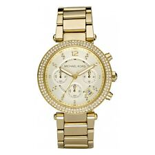 Michael Kors MK5354 Parker Ladies Chronograph Watch Champagne