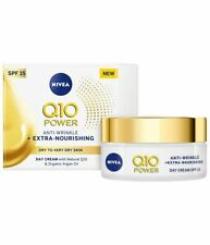 Nivea Day Cream with Natural Q10 Organic Argan Oil Anti-Wrinkle Nourish SPF 15