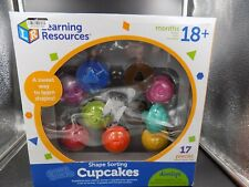 Learning Resources Smart Snacks Shape Sorting Cupcakes 7347