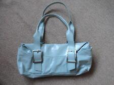 Kenneth Cole New York Leather Shoulder/Handbag pale blue