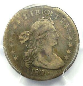 1803 Draped Bust Half Dime H10C - Certified PCGS VF Details - Rare Date Coin!