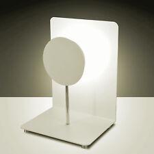 Design LED Table/Desk Lamp Table Lamp Fullmoon 1FLG Lamp Light Silver fabas Luce