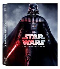 BRAND NEW Star Wars: Complete Saga episodes 1-6 Movie Box Set 9-Disc Blu-Ray