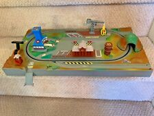 MICRO MACHINES Power Train City Complete Base, All Buildings, Batteries, Works