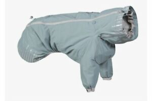 Hurtta Rain Blocker Dog Rain Coat, New, Size 50 cm- 20 in, Color - Stream
