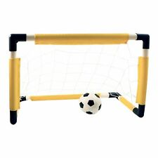 KidPlay Products Outdoor Sports Deluxe Soccer Goal Set Ball and Air Pump