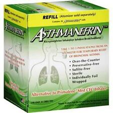 Asthmanefrin Refill 30 Vials Relieves From Asthma Short Breath And wheezing