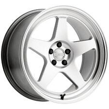 Kansei K12h Knp 17x9 5x45 35mm Silver Wheel Rim 17 Inch Fits 2011 Toyota Camry
