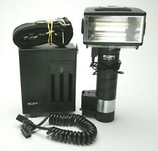 Metz CT60-1 Flash Complete Set With Sync, Strap & Charger. NO Battery. Tested.