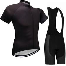 2021 Men Cycling Jersey Bib Short Kit Bike Gel Pad Team MTB Race Ride Road Shirt