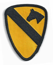 1st CAVALRY - CREST LOGO - IRON ON PATCH