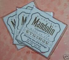 D'Addario Mandolin Strings EJ62 80/20 Bronze ( 3 SETS ) ~Ships Free To U.S.~