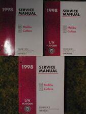 1998 Chevrolet Malibu Olds Cutlass Service Manuals  98
