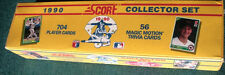 (2) 1990 SCORE COLLECTOR FACTORY SETS MINT BASEBALL CARDS