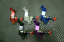 Junior JR Dragster Kart Mikuni 33mm Carb billet cable bracket w/ throttle stop