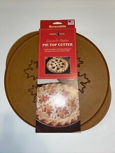 New Nordic Ware Leaves And Apples Reversible Pie Top Cutter Crust Design Press