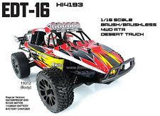 HI4193BL Buggy Desert EDT-16 Brushless Himoto 1/16 4wd 2.4gHz RTR