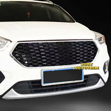 Black Gloss Double honeycomb Sport Style Front  Grille  for 2017 ford Escape