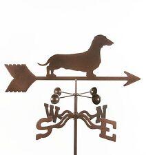 Dog - Dachshund Weathervane, Vane - Weiner - Doxie - Complete w/ Choice of Mount