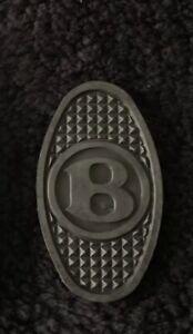 Bentley MkVI S1 S2 Continental 1946-63 Clutch Brake Pedal Rubber Pad RF4281 OEM
