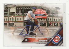 Ben Zobrist Chicago Cubs Topps Exclusive Charity Baseball Card